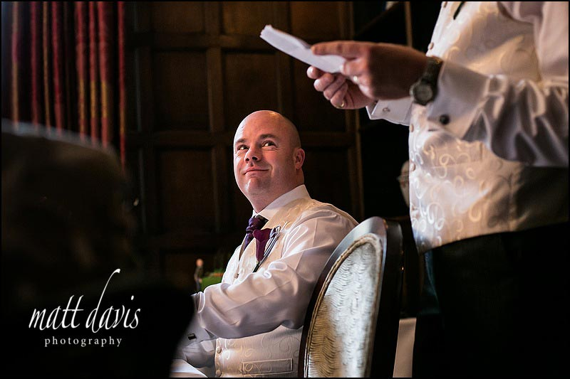 wedding speeches at Ellenborough park