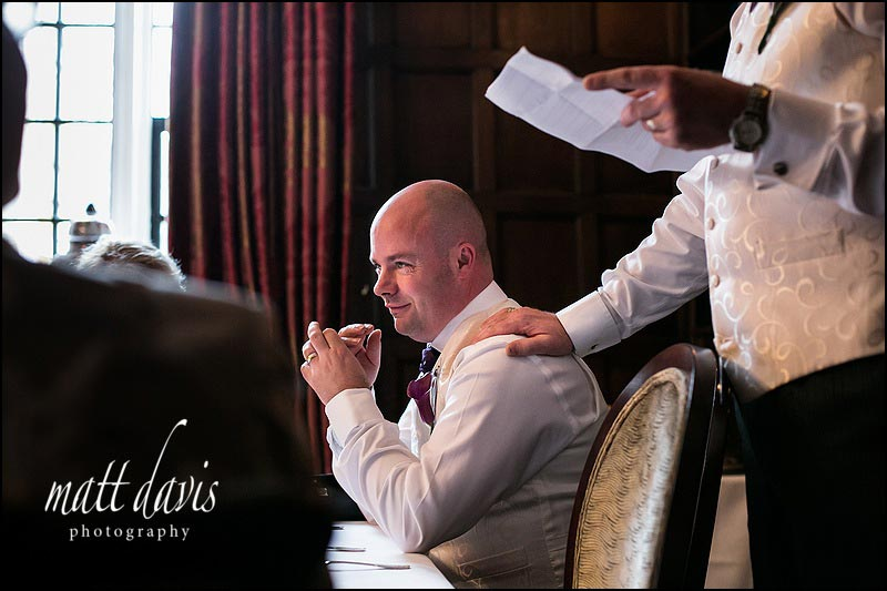 Gloucestershire wedding photographer Matt Davis photographs weddings at Ellenborough Park