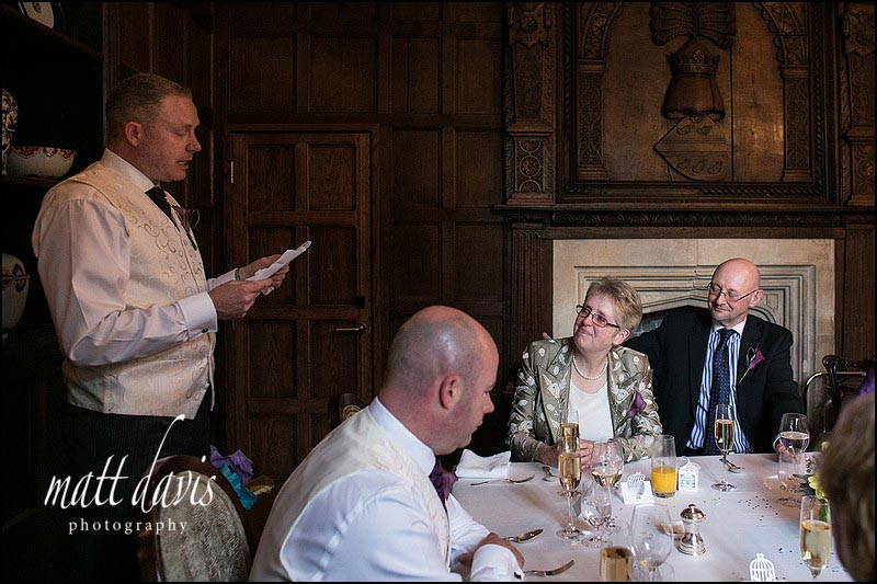 Speeches at Ellenborough park, Cheltenham, Gloucestershire.