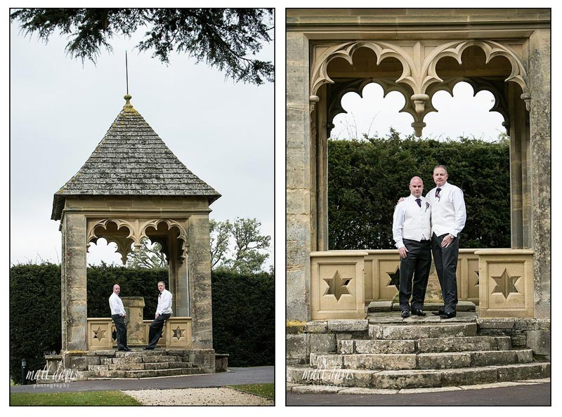 Civil Partnership at Ellenborough Park - Steve & Graham