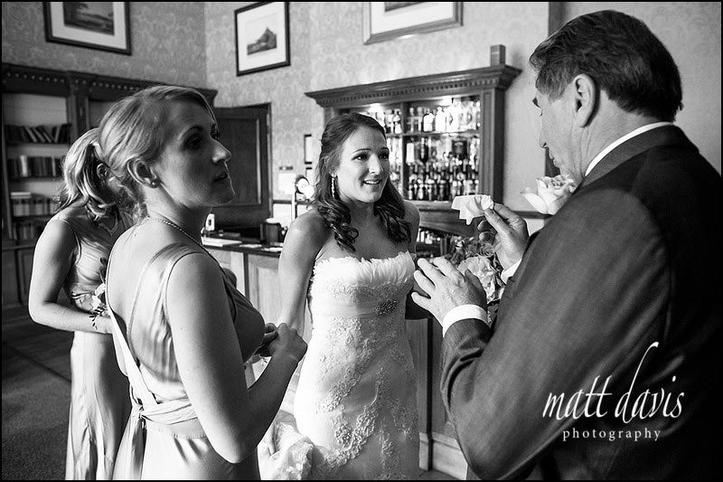 Documentary wedding photography by Gloucestershire wedding Photographer Matt Davis
