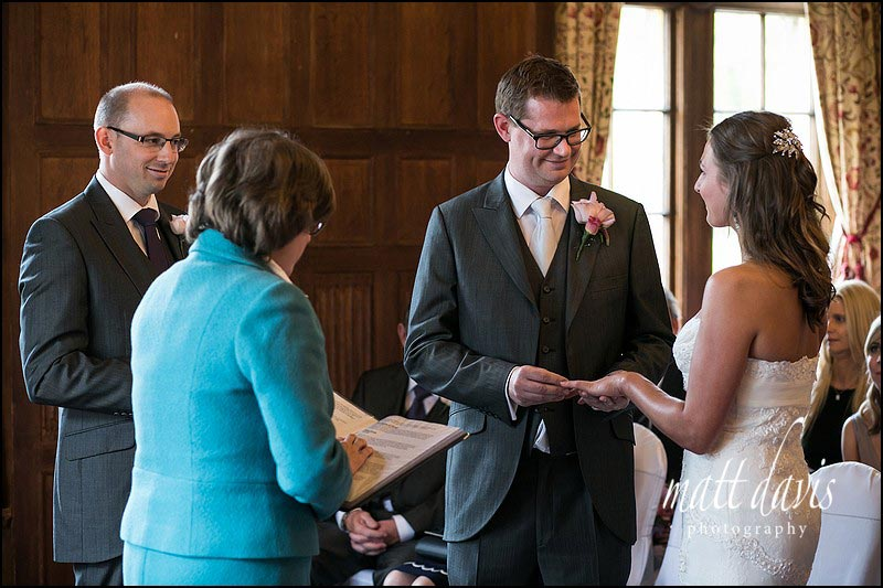 Dumbleton Hall wedding photos by Matt Davis Photography