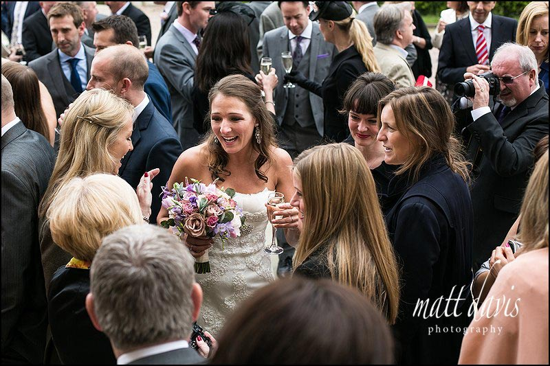 wedding photography by Matt Davis at Dumbleton Hall