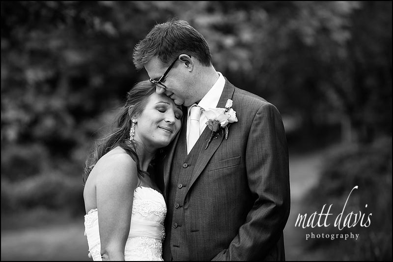 Timeless black and white wedding photos by Matt Davis Photography - taken at Dumbleton Hall, Worcestershire