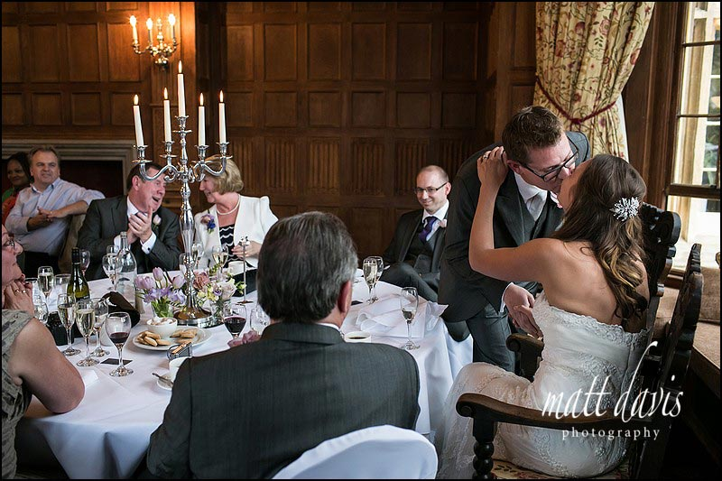 Documentary wedding photography at Dumbleton Hall by Photographer Matt Davis
