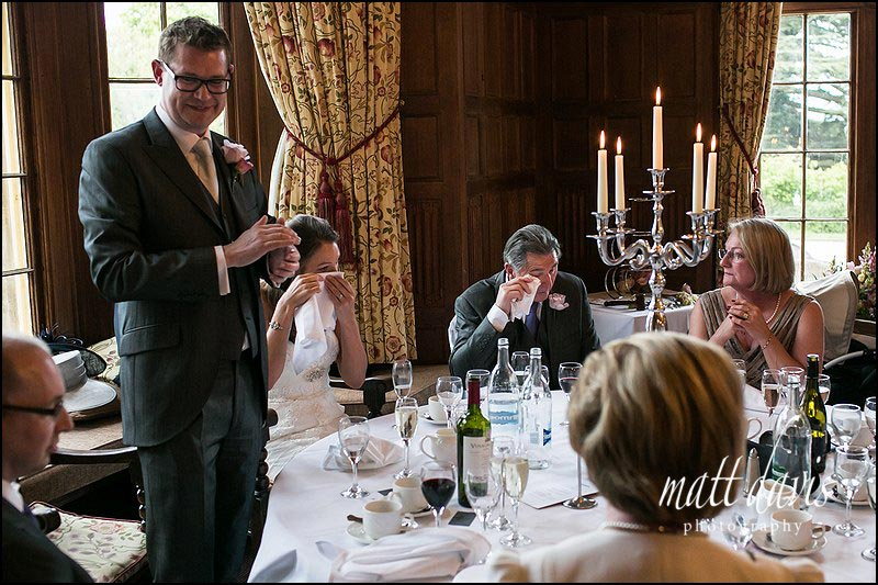 Dumbleton Hall wedding photos captured by Gloucestershire wedding photographer Matt Davis