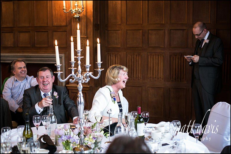 Professional Dumbleton Hall wedding photos by Photographer Matt Davis, based in Cheltenham, Gloucestershire