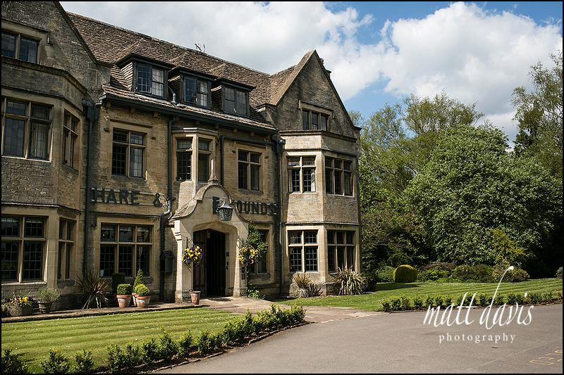 The Hare and Hounds wedding venue, Westonbirt