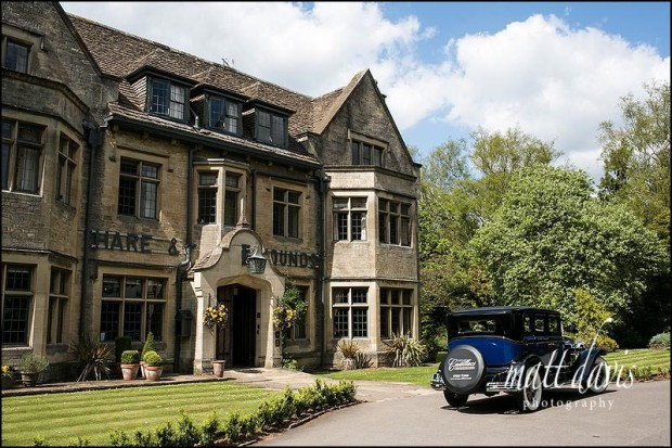 Hare and Hounds Hotel wedding venue Tetbury, Gloucestershire