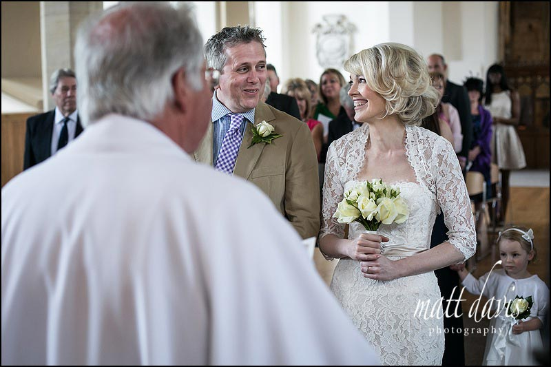 Reportage wedding photography at Horsley Church by Gloucestershire photographer Matt Davis