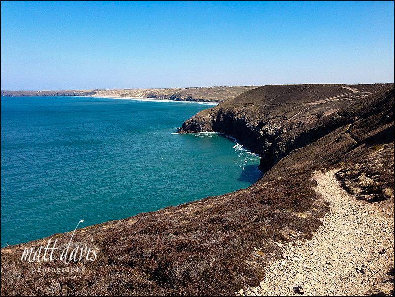 Holiday photos along the SW coastal Path from St Agnes to Perranporth