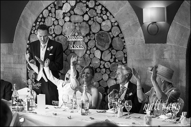 great wedding speeches captured by Gloucestershire photographer Matt Davis