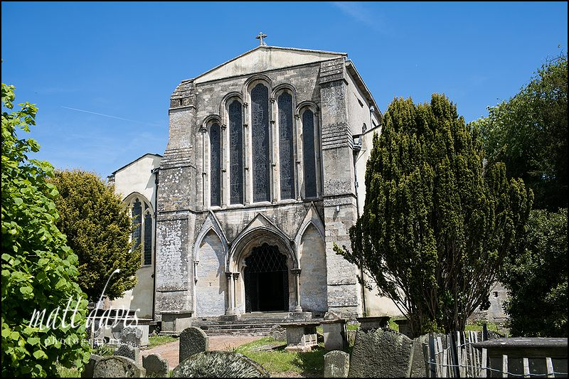 St Mary's Church, Berkeley.  Only a stones through from the Castle itself.