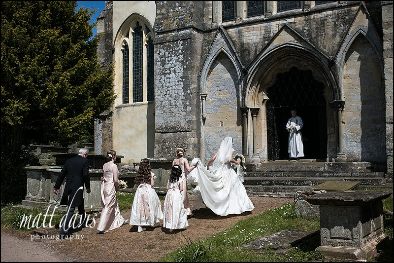 weddings at Berkeley Castle church