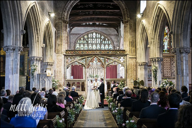 weddings at St Mary's church near Berkeley Castle