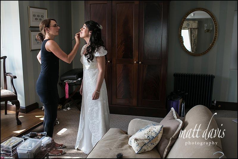 Ellenborough Park bridal suite
