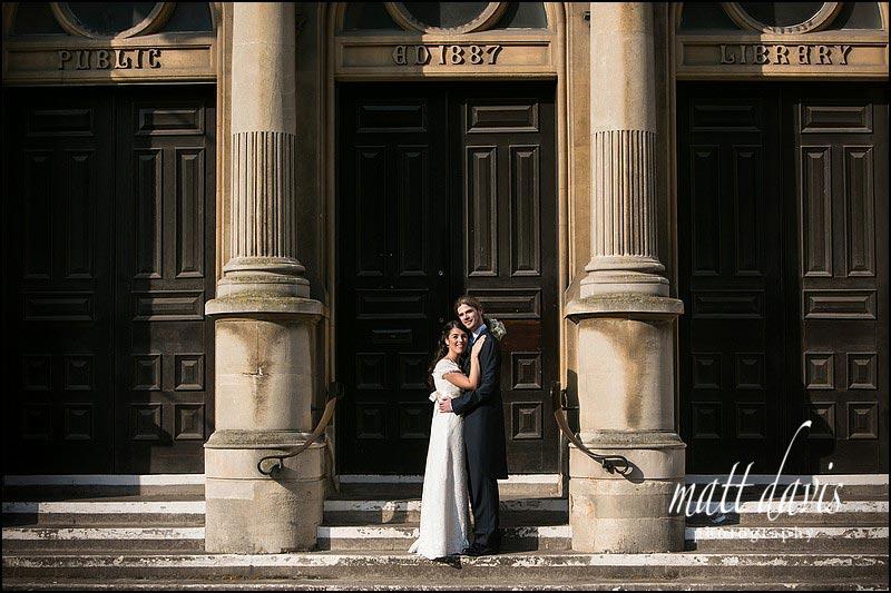 Wedding photography in Cheltenham Town Centre by Matt Davis