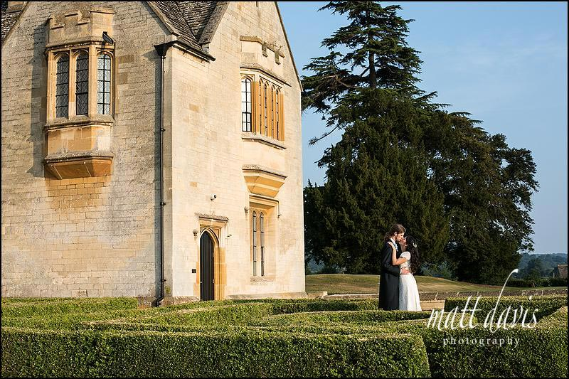 Elegant wedding photos at Ellenborough Park taken by Matt Davis Photography