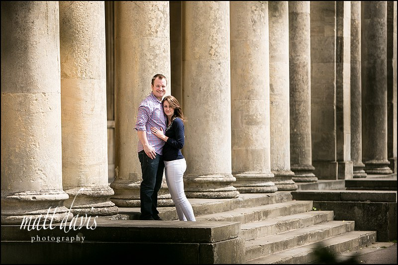 Couple pre wedding portraits Gloucestershire