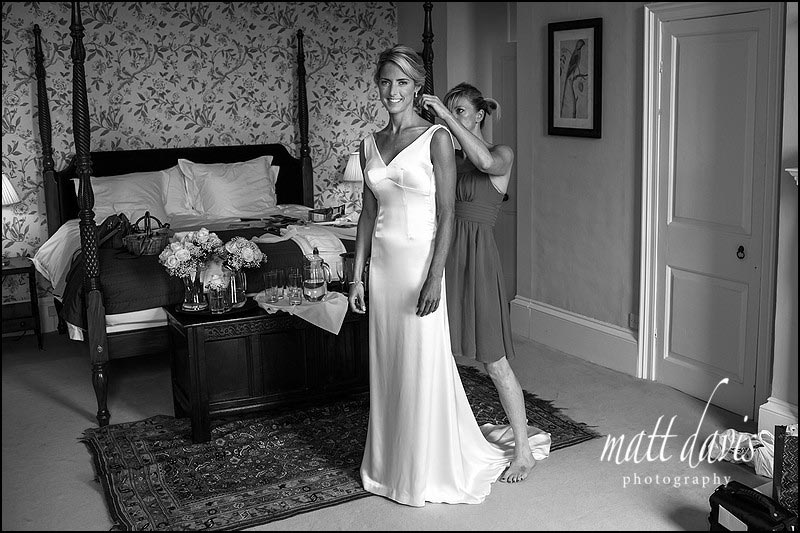 Ardington House wedding photography in Black and White by Matt Davis