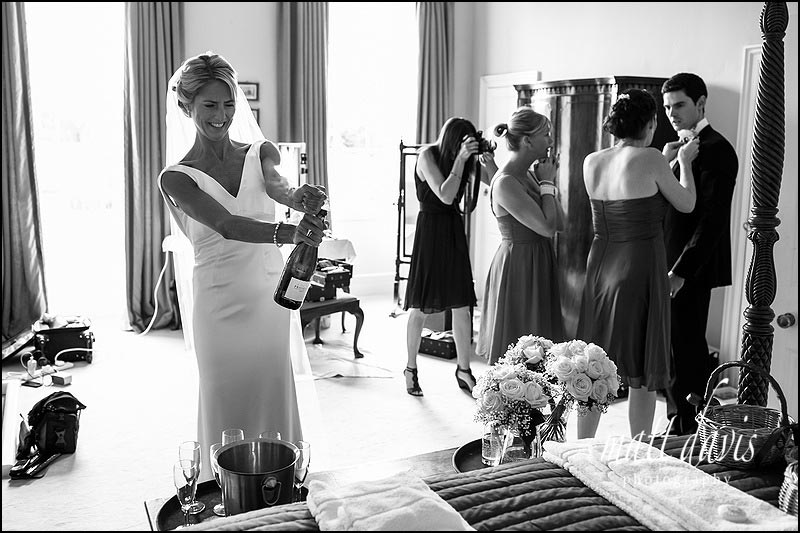 documentary wedding photography at Ardington House
