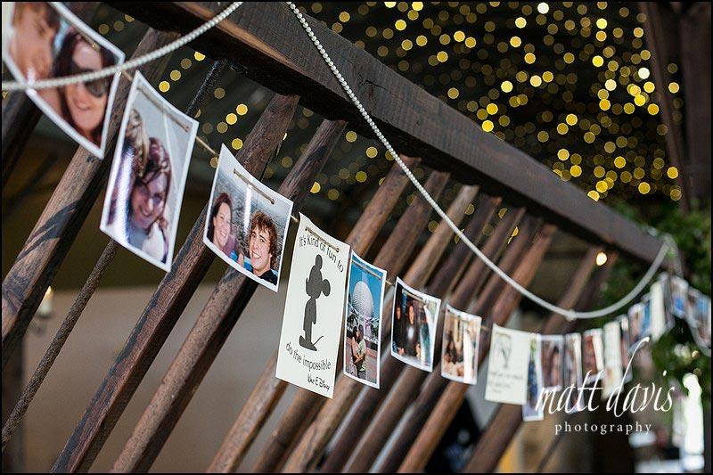 Walt Disney themed wedding at Cripps Stone Barn