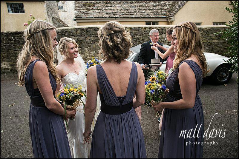plats in the bridesmaids wedding hairstyle