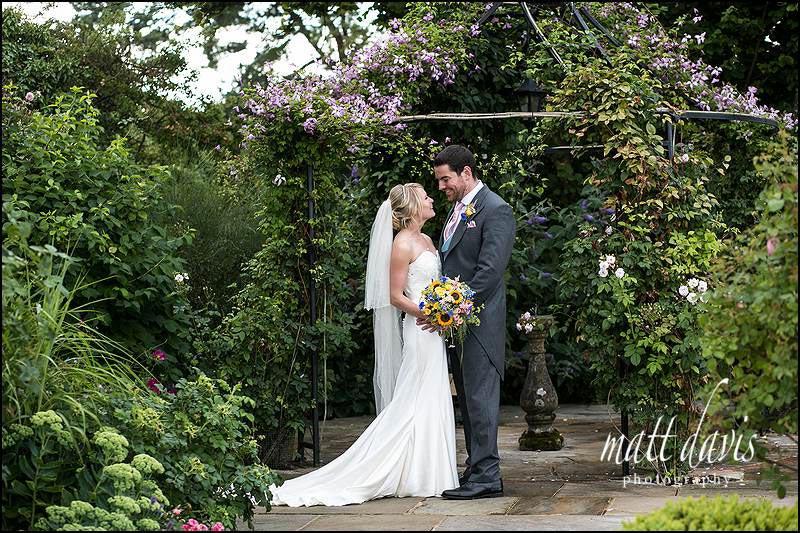 Elegant wedding photos taken at Kingscote Barn by Matt Davis Photography