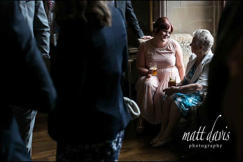 Natural light wedding photos at Berkeley castle