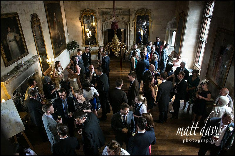 Wedding reception at Berkeley Castle