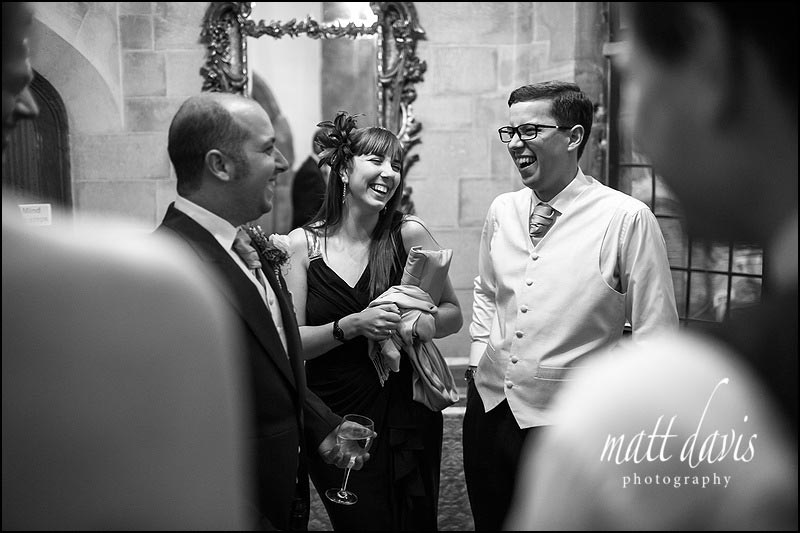 Candid wedding photography at Berkeley Castle