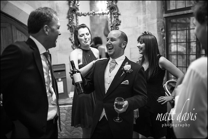 Documentary wedding photography at Berkeley Castle