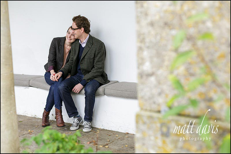 Relaxed couple portraits taken in Gloucestershire by Matt Davis Photography