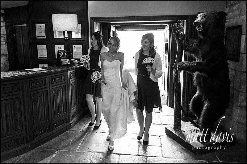 a wedding at The BEAR of Rodborough