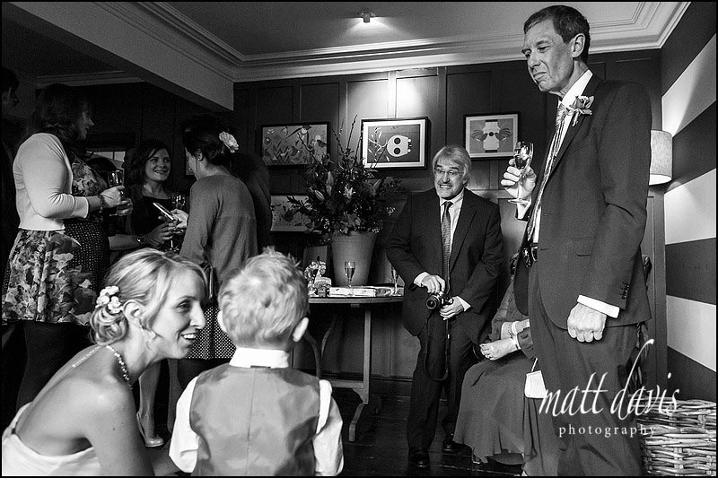 documentary wedding photography at The Bear of Rodborough in Gloucestershire