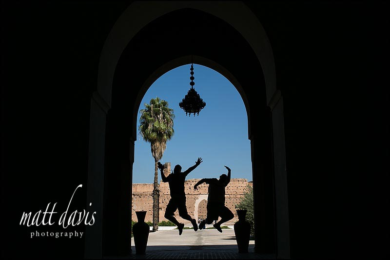 Photographers enjoying a five day break in Marrakech