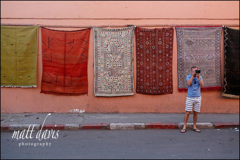 Photographers enjoying a holiday in Marrakech