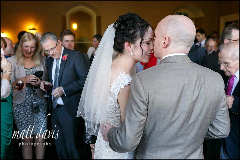 Documentary wedding photography at Limpley Stoke Hotel by Matt Davis Photography