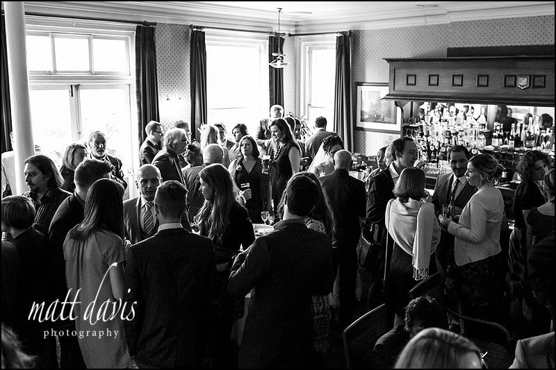Wedding reception at Limpley Stoke Hotel