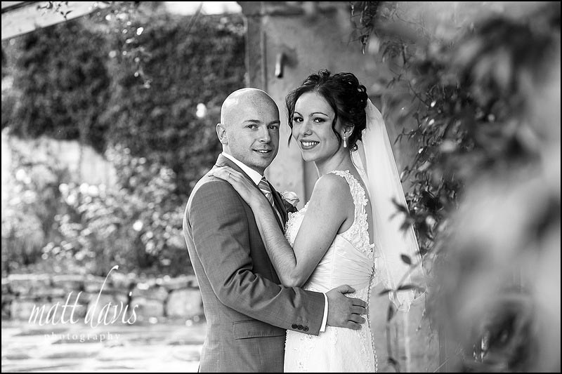 Wedding photography at Limpley Stoke Hotel in the outdoor garden
