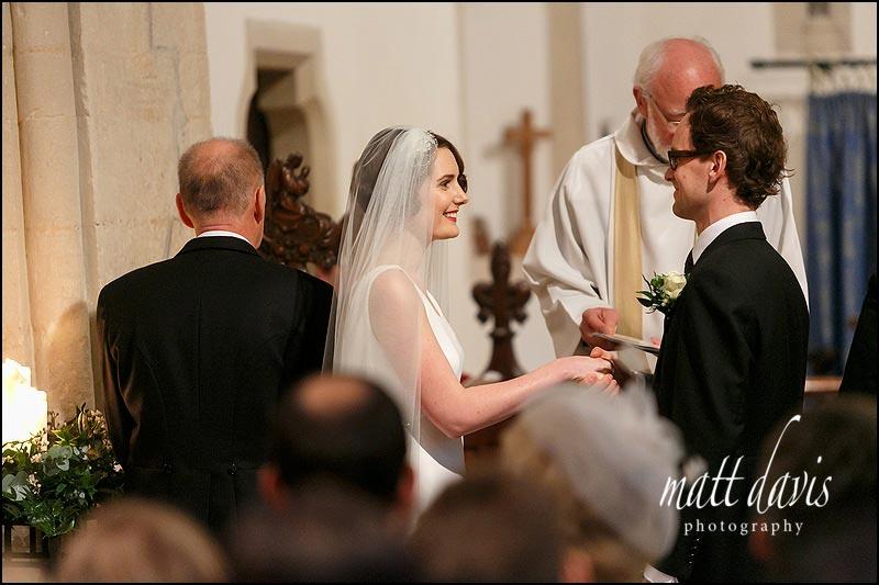 A wedding at  St Mary's church Barnsley, Gloucestershire