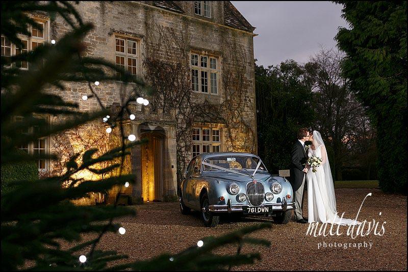 Christmas Winter wedding at Barnsley House