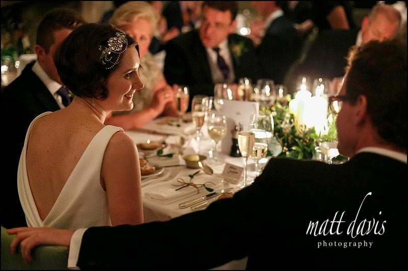 A candle lit winter wedding at Barnsley House