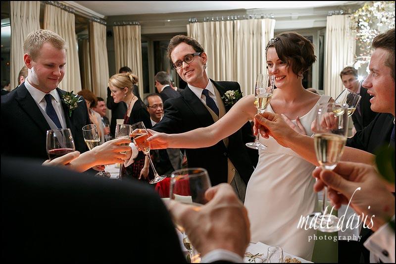 wedding speeches at Barnsley House