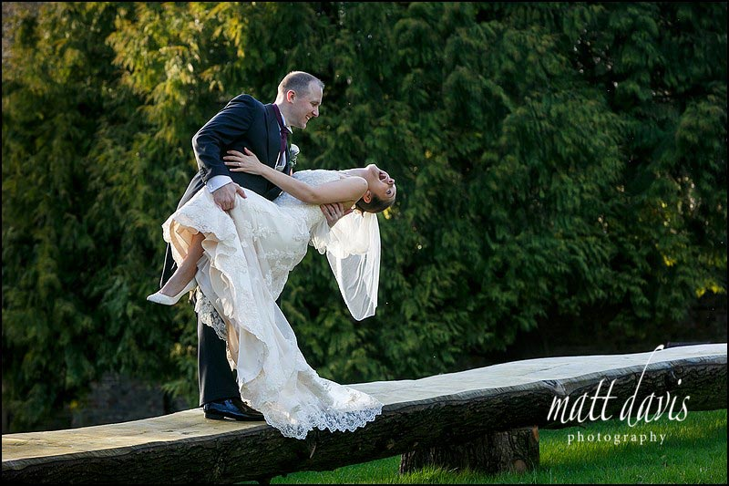 Fun Eastington Park wedding photos by Matt Davis Photography
