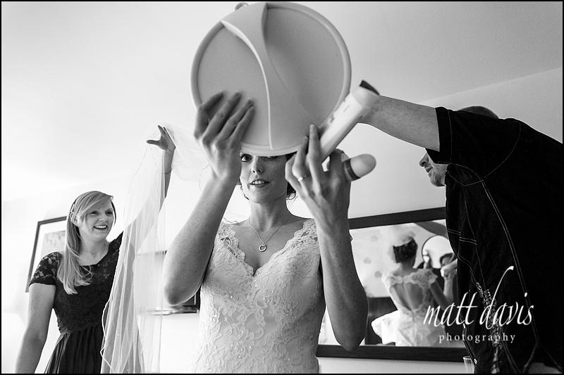 Black and white wedding photos by Matt Davis Photography based in Gloucestershire