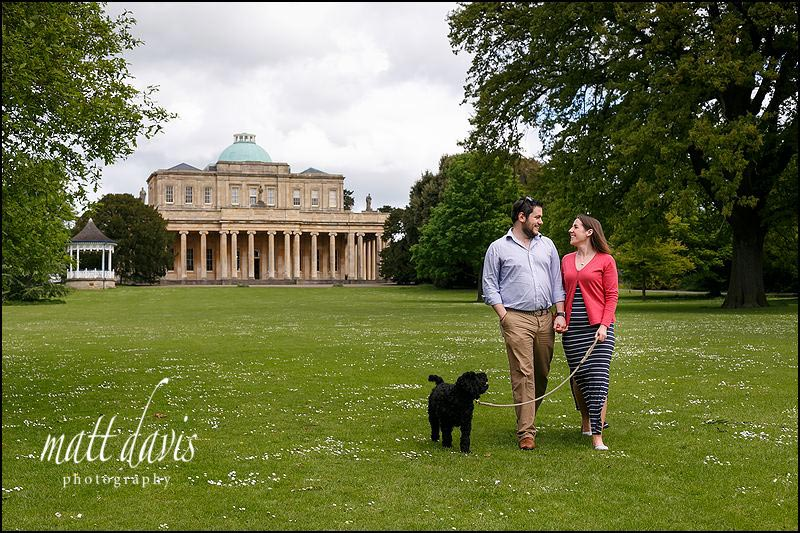Engagement photography Cheltenham at Pittville Park