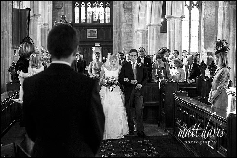 documentary wedding photos by Matt Davis Photography taken during a wedding in Holy Trinity church, Cold Ashton, Gloucestershire