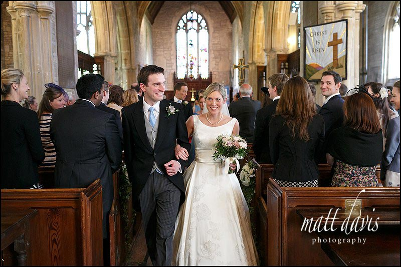 wedding photos by Matt Davis Photography taken at Holy Trinity Church in Cold Ashton