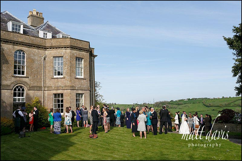 Hamswell house wedding photos by Matt Davis Photography.